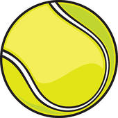 170x170 Clipart Of Happy Bouncy Green Cartoon Tennis Ball K18820850