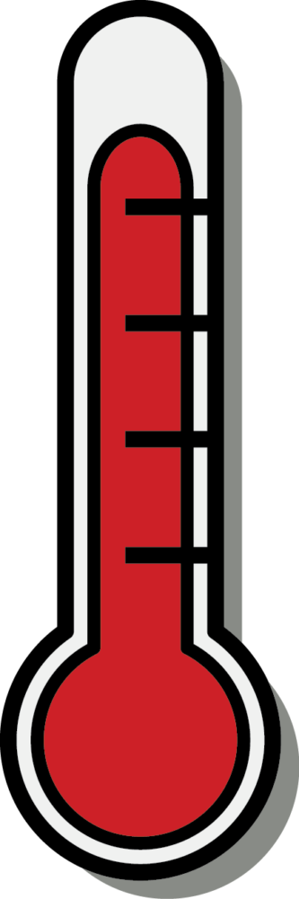 333x1001 Cartoon Thermometer Clipart Thermometer Clipart