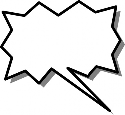425x391 Thought Bubble Clipart