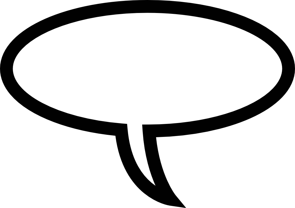 1000x705 Thought Bubble Speech Bubble Clipart Kid Clipartix 2 Image