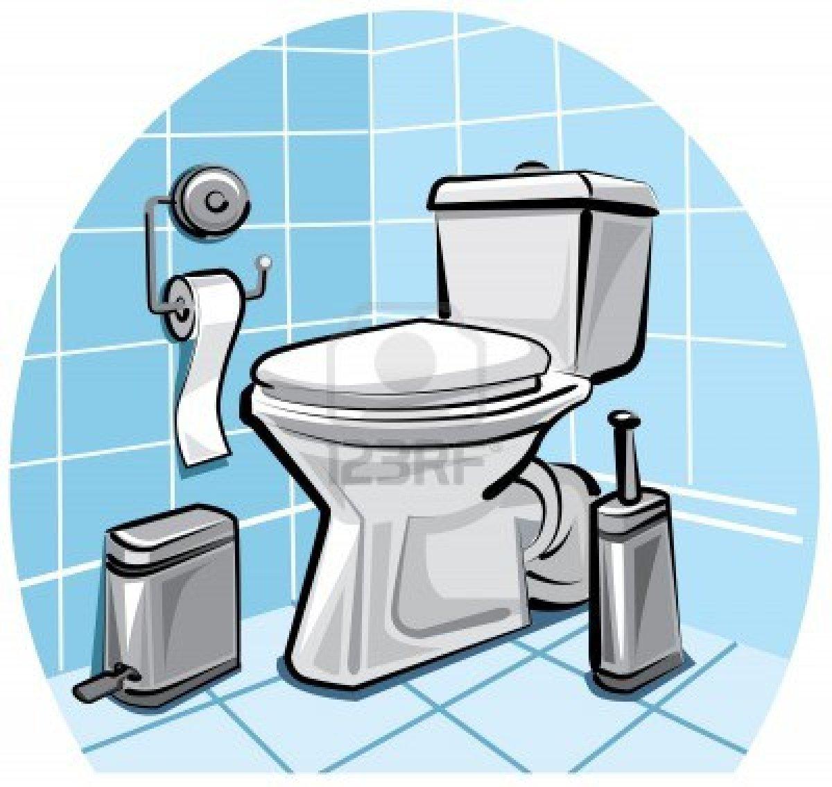 Cartoon Toilet Images Clipart