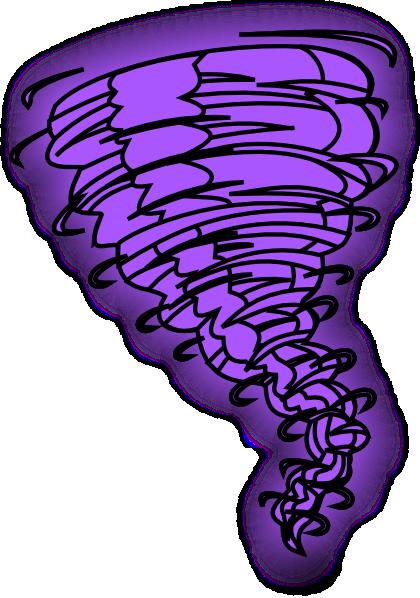 420x598 Tornado Purple Clip Art