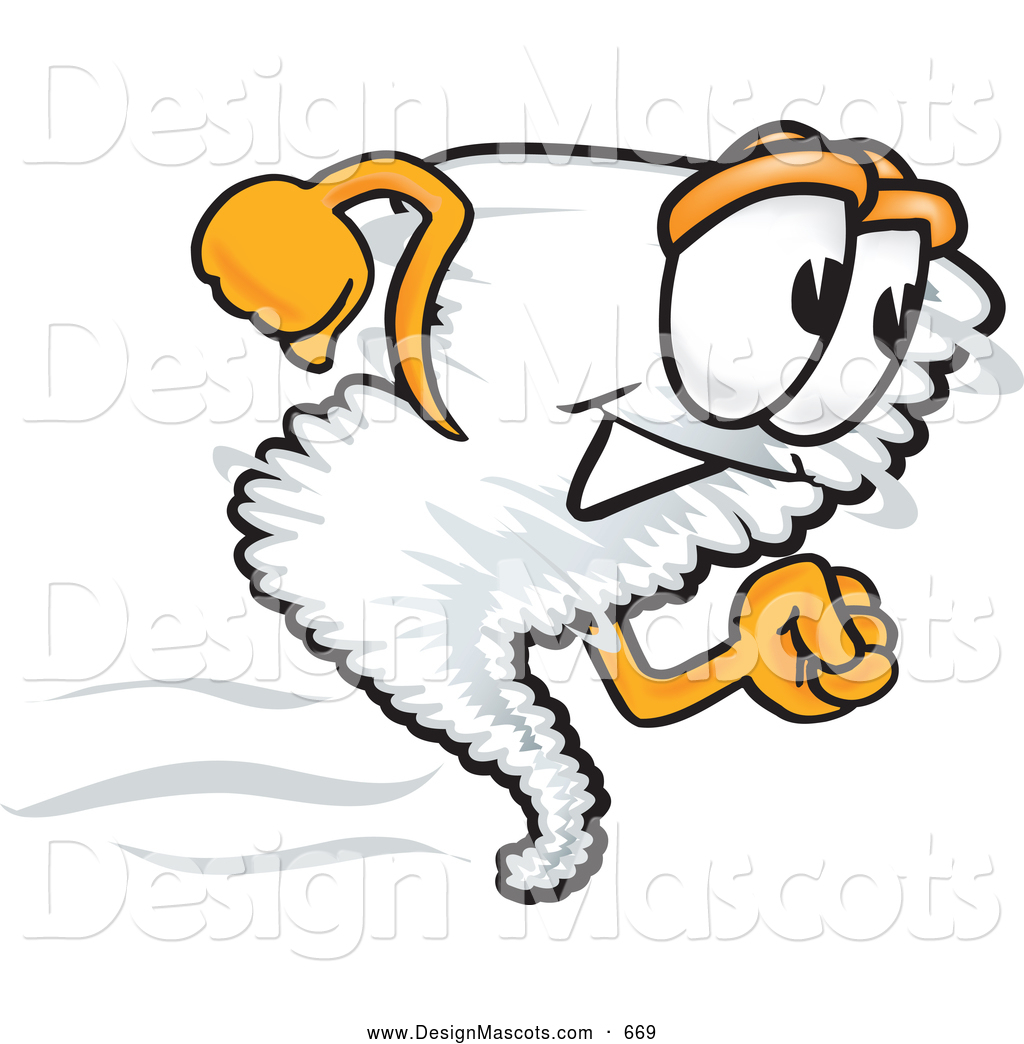 1024x1044 Stock Vector Cartoon Of A Tornado Mascot Running By Toons4biz