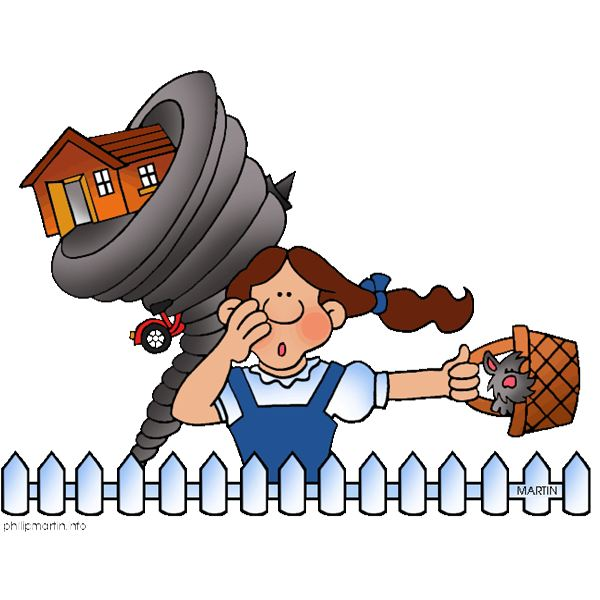 600x600 Wizard Of Oz Clipart Tornado Scene Free 2