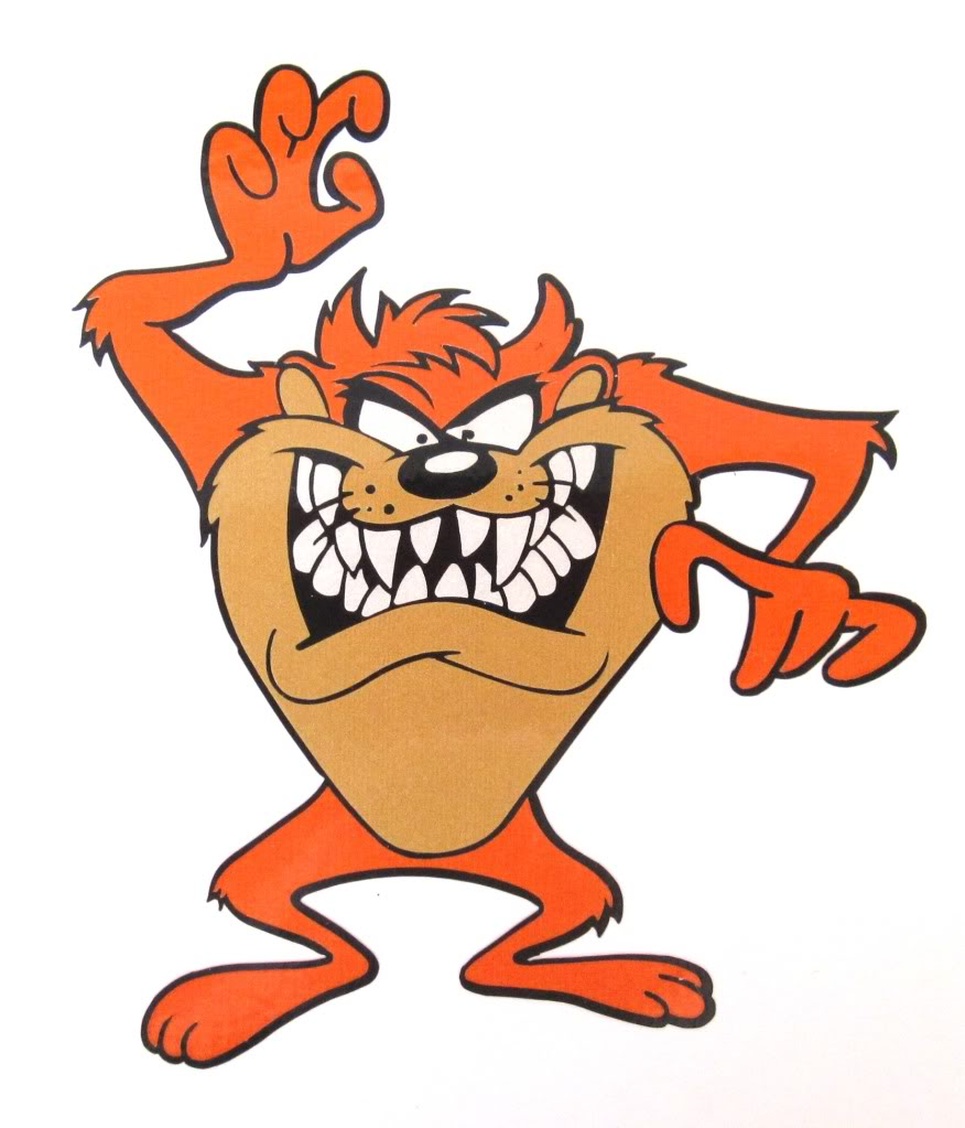 876x1023 Tasmanian Devil Cartoon Tornado