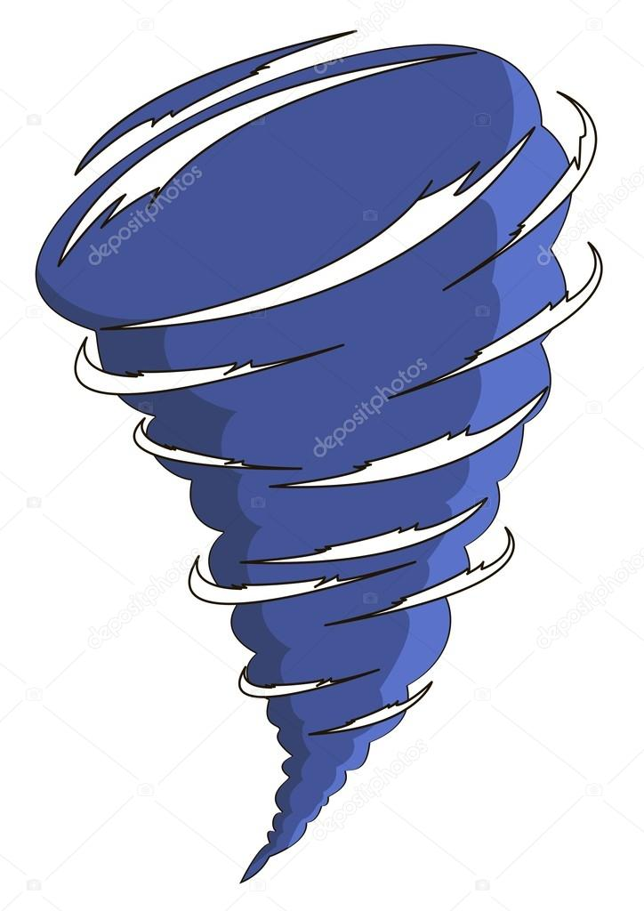 724x1024 Cartoon Tornado Stock Vector Kook187