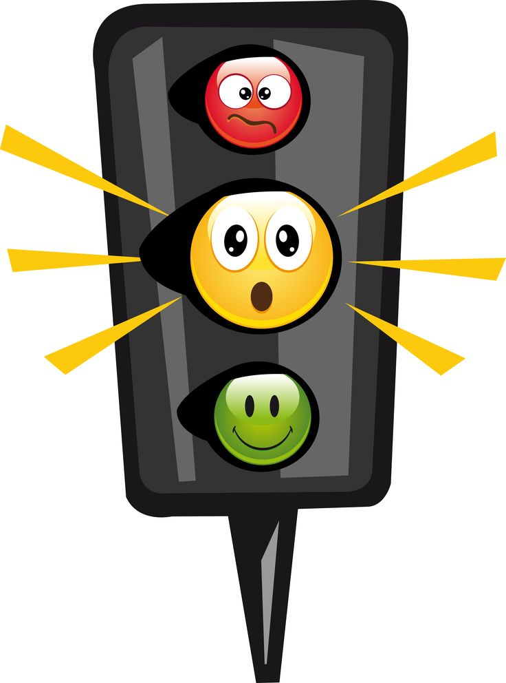 Cartoon Traffic Light Clipart