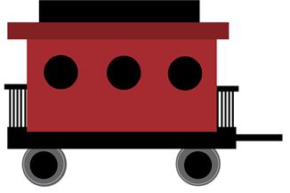 326x217 Engine Clipart Train Caboose