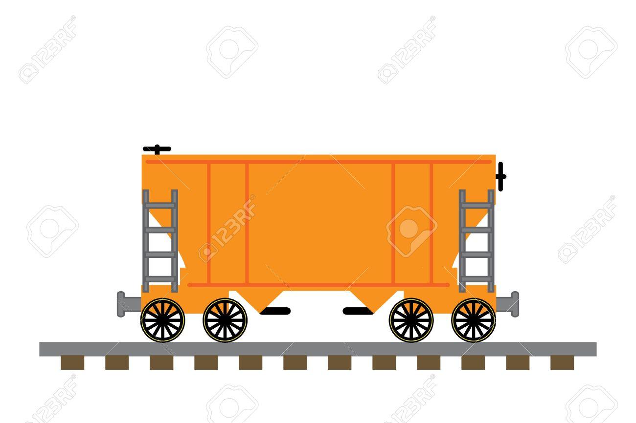 1300x866 Train Stock Car Clipart