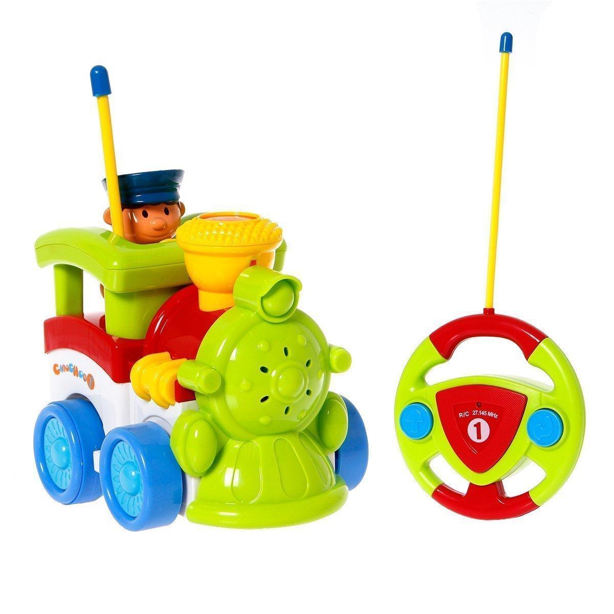 1200x1200 Cartoon Rc Train Car Radio Control Toy For Toddlers