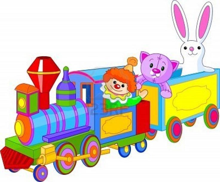 Cartoon Train Image