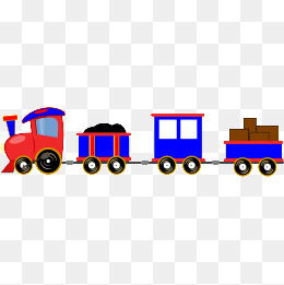 260x261 Color Cartoon Train, Cartoon Train, Color Train, Kids Toys Png