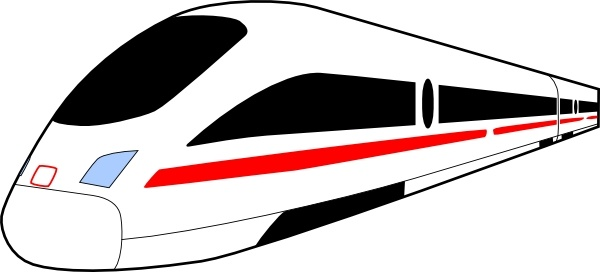 600x272 Clipart Train