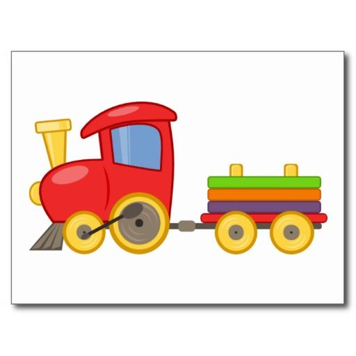 512x512 Drawn Train Animated