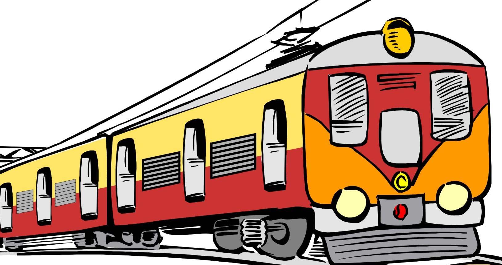 1629x861 Passenger Train Clipart