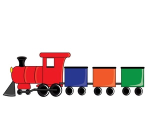300x248 Toy Train Clipart