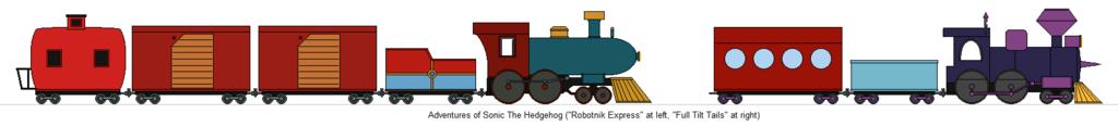 1024x116 Trains Of The Cartoon World By Railroadnutjob