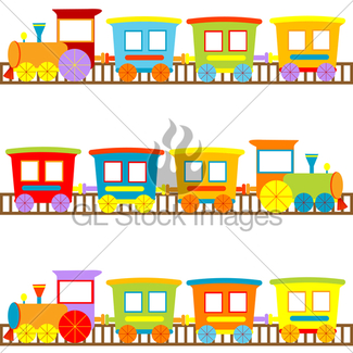 325x325 Cartoon Trains Backgrounds For Kids · GL Stock Images