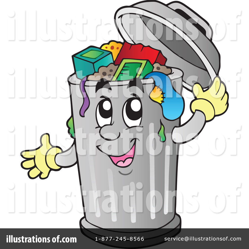 1024x1024 Trash Can Clipart