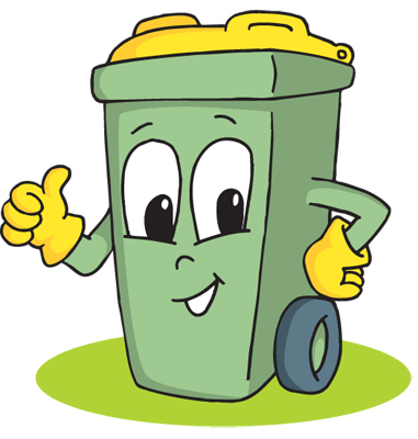 381x400 Trash Clipart Animated