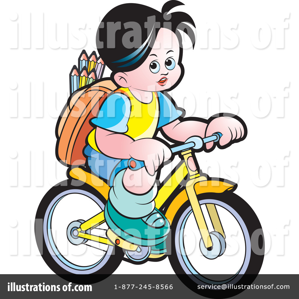 Cartoon Tricycle Cliparts