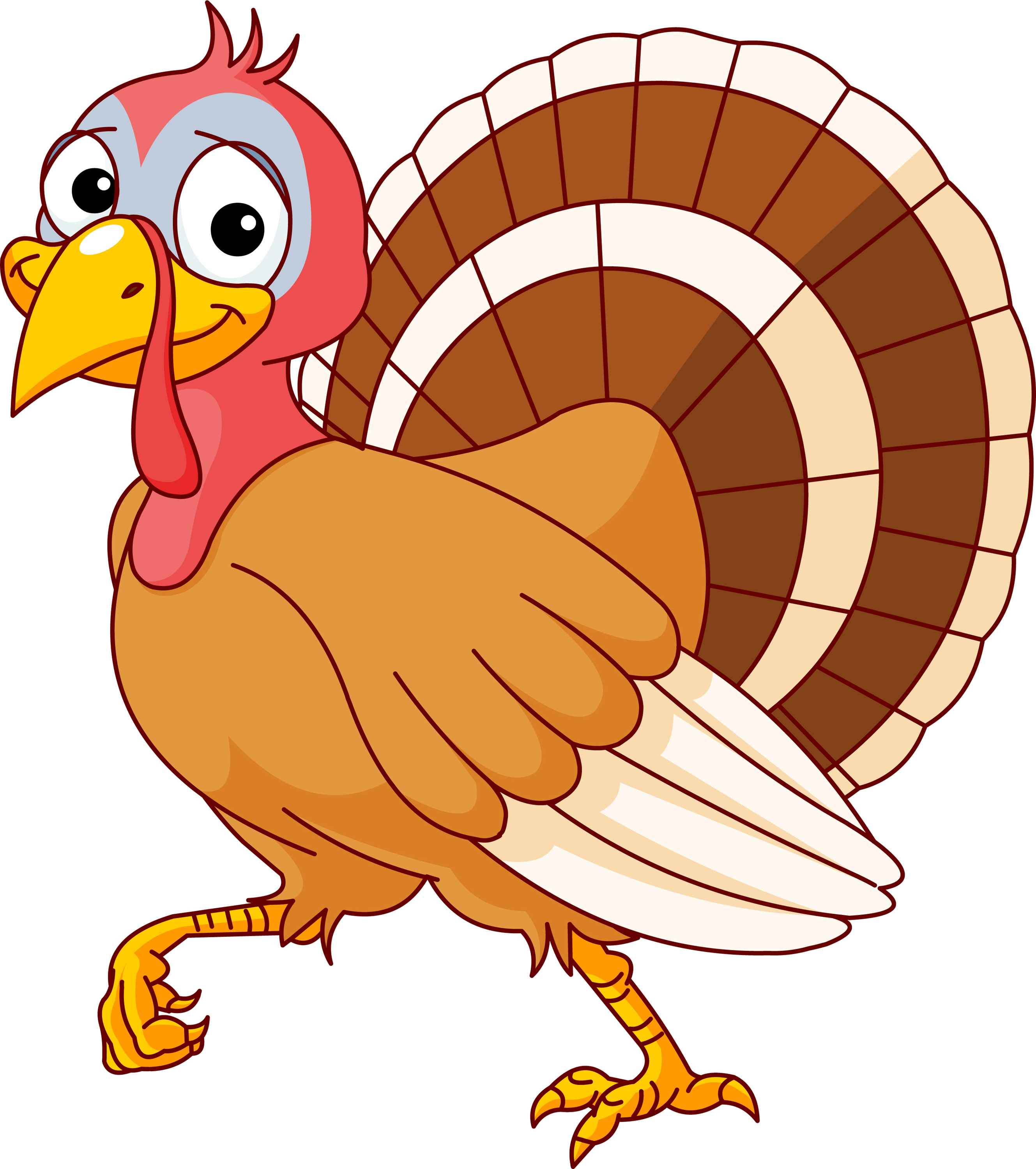2658x3000 Cooked Turkey Turkey Clipart 3