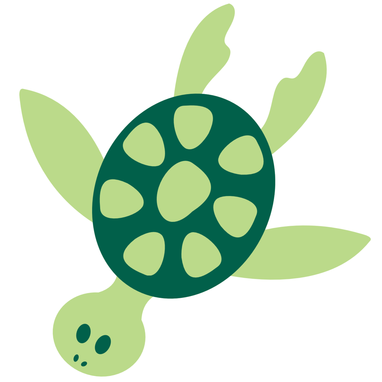 1264x1264 Cartoon Sea Turtle Clipart Free To Use Clip Art Resource Image