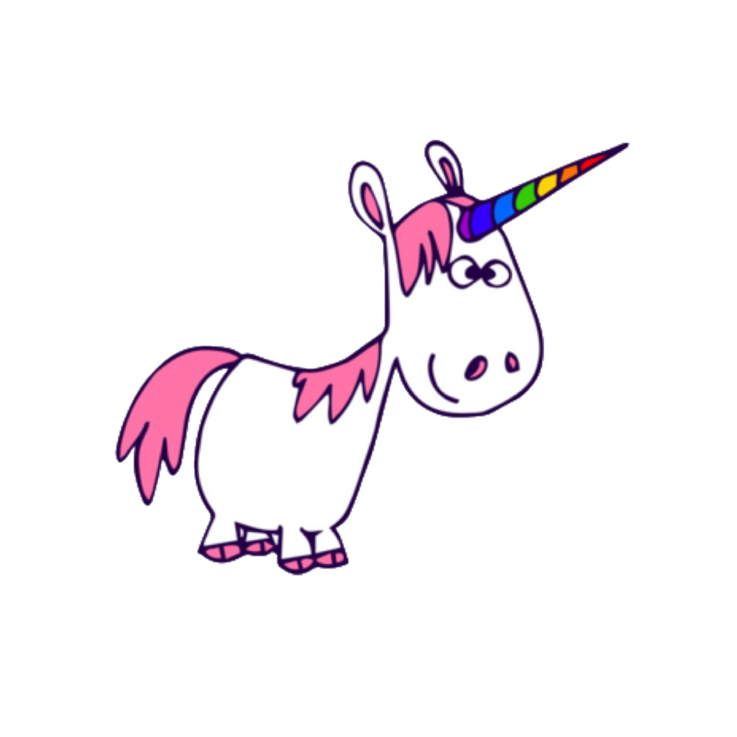 Cartoon Unicorn Clipart | Free download on ClipArtMag