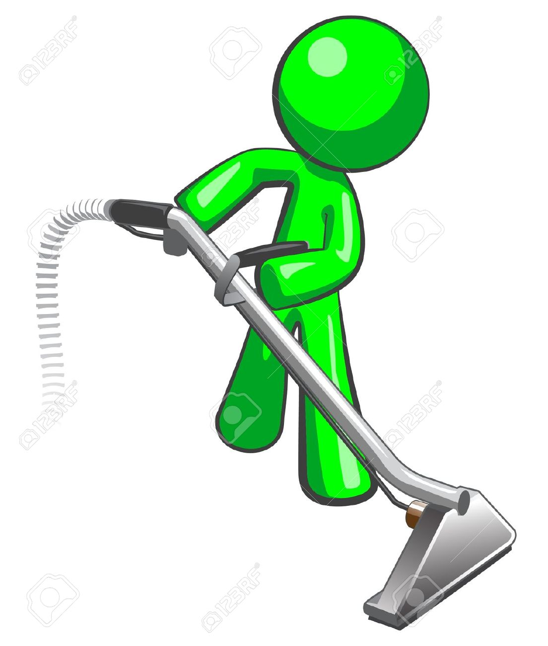 Cleaner. Royalty Free Stock Photography - Image: 16841637 |Carpet Clean Cartoon