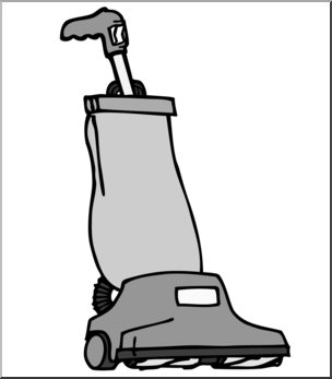 304x347 Clip Art Vacuum Cleaner Grayscale I Abcteach