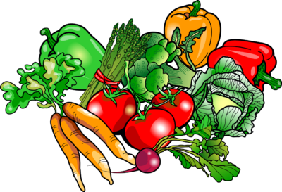 400x273 Clip Art Cartoon Vegetables Clipart