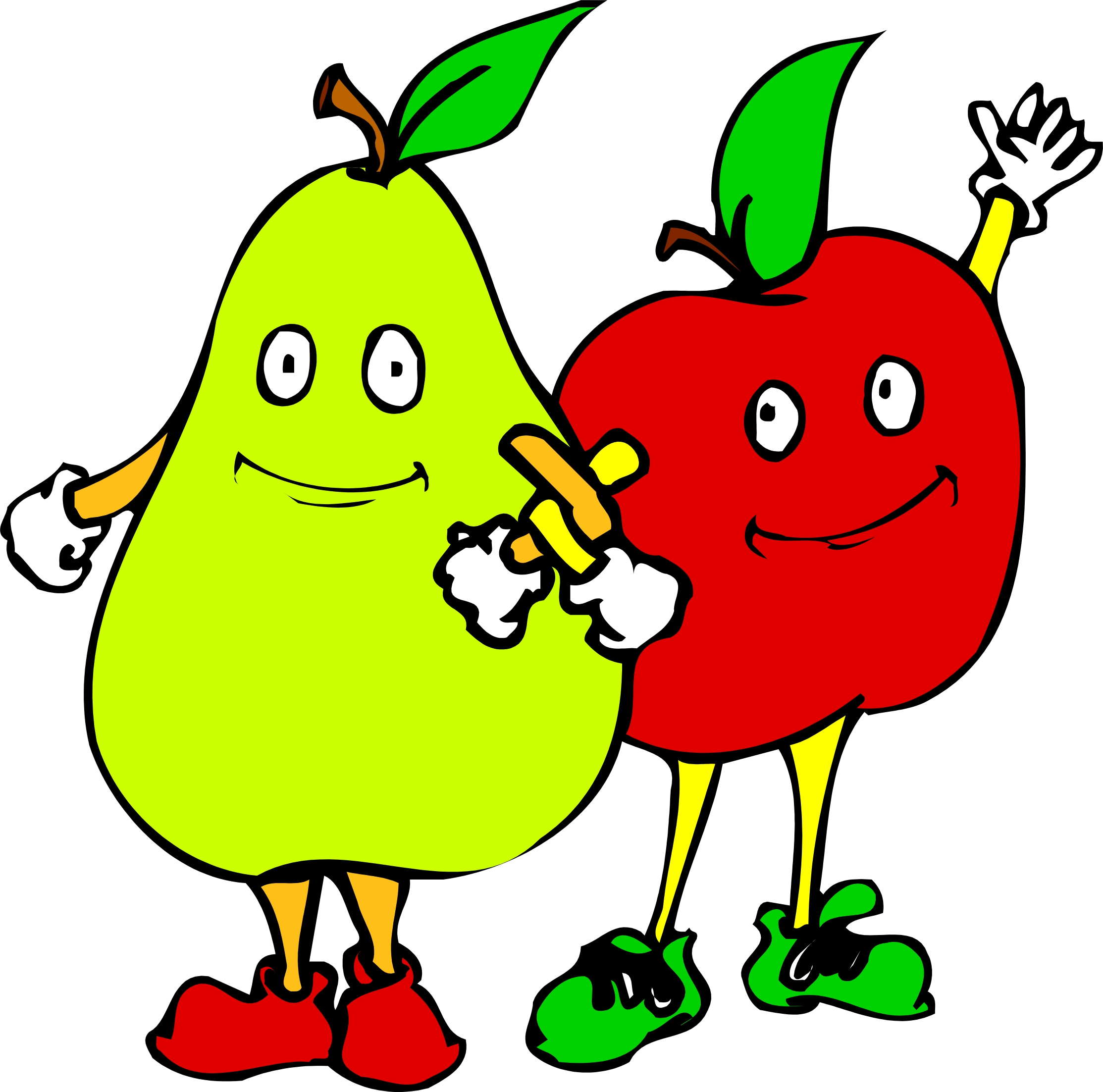 Cartoon Veggies Clipart | Free download on ClipArtMag