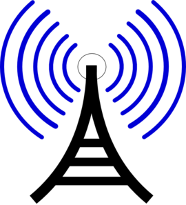 270x297 Radio Waves Clip Art