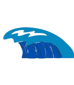 258x298 Wave Clip Art