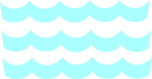 300x156 Cartoon Waves Clip Art Clipart Collection