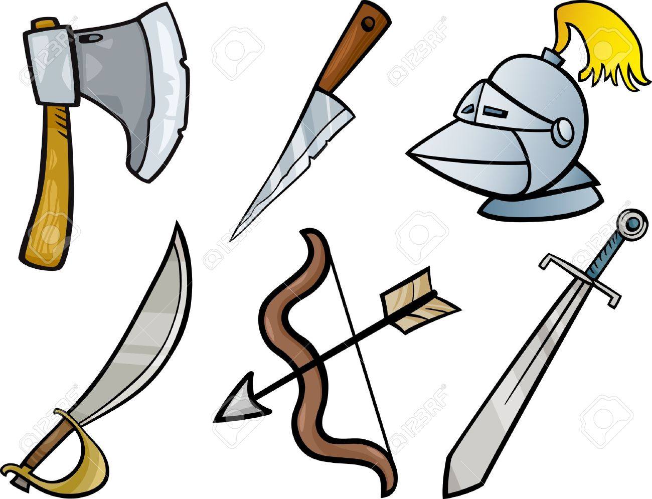 1300x995 Weapon Clipart Sharp Object
