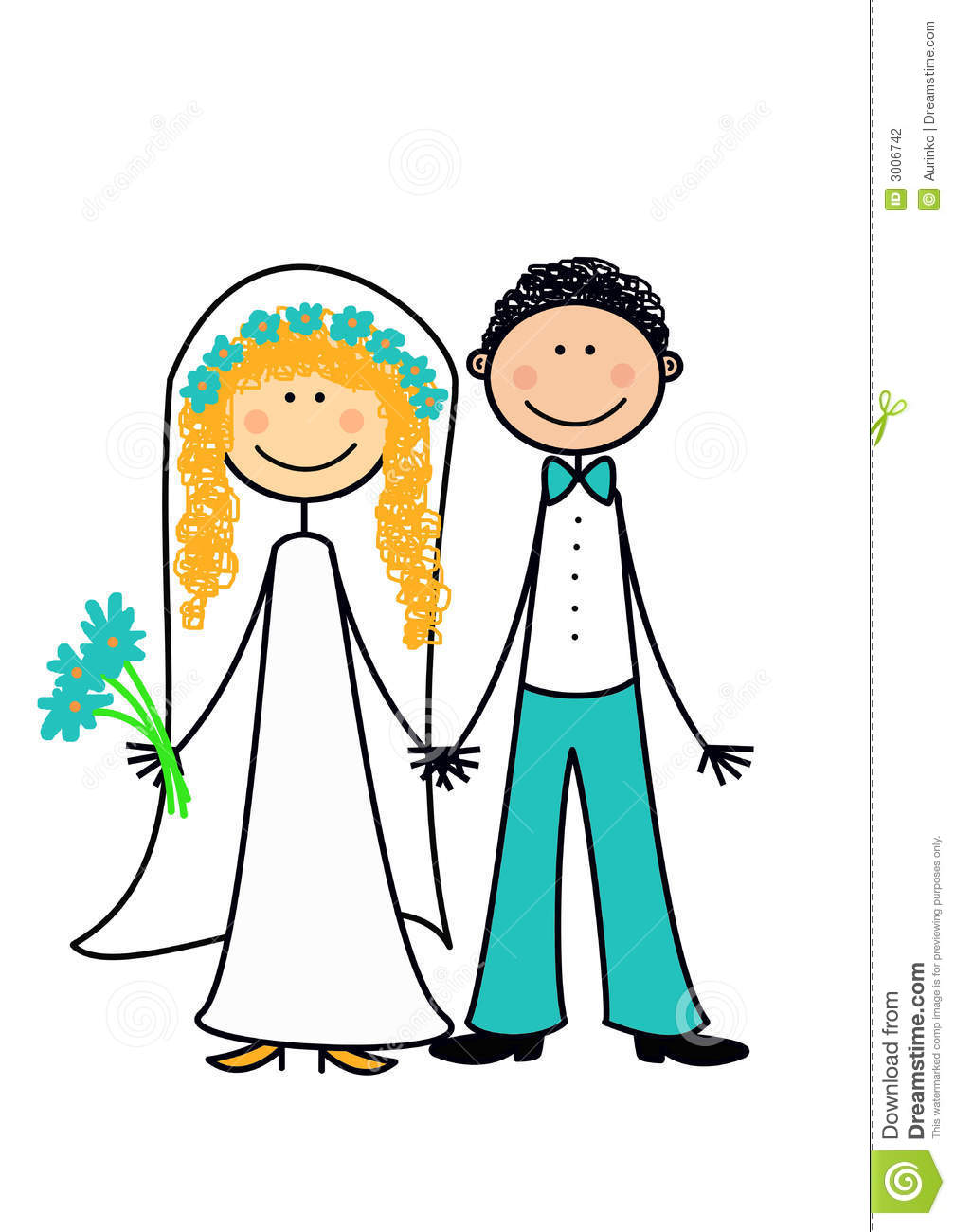 1008x1300 Married Couple Clipart