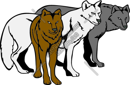 500x327 Coyote Clipart Cartoon Wolf
