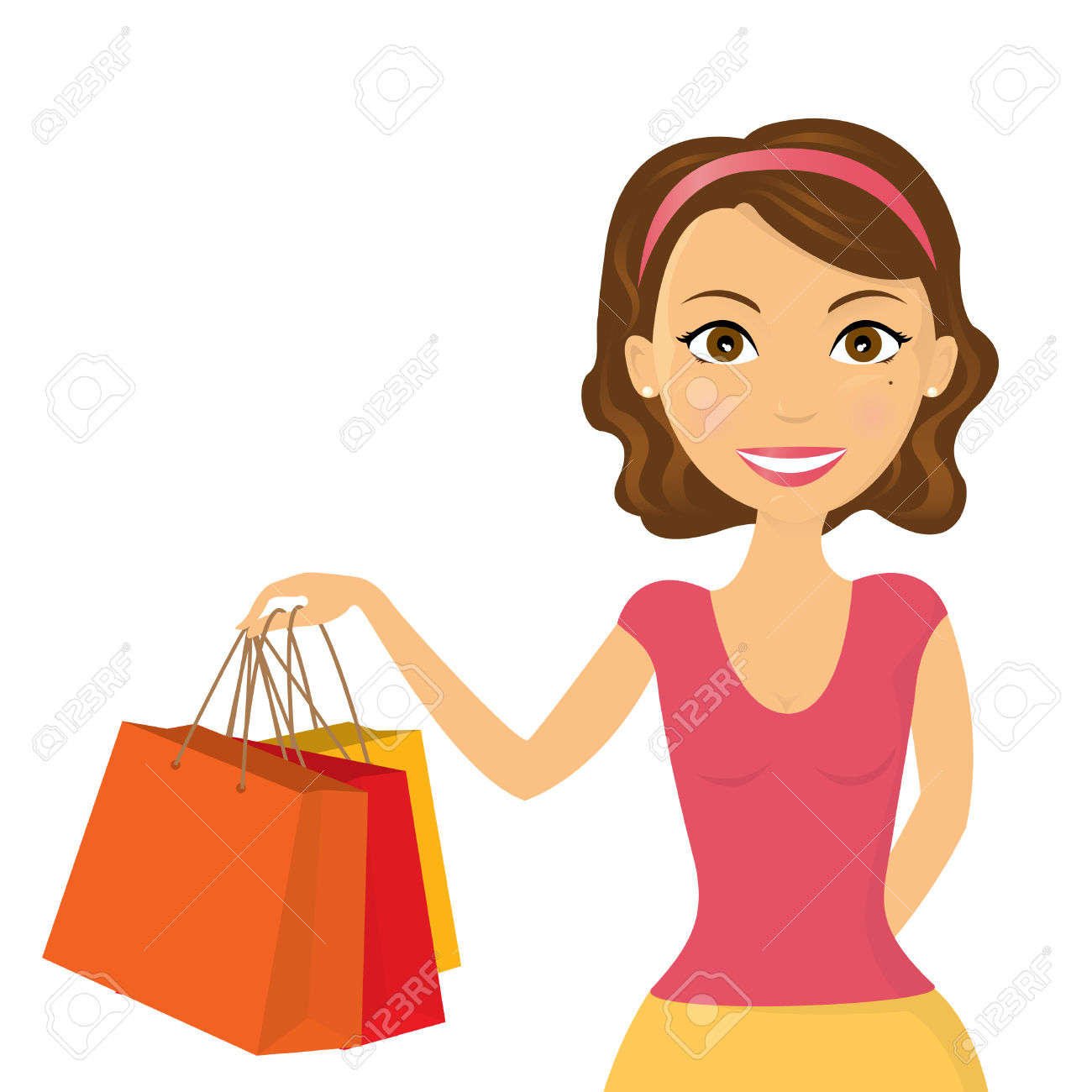 1300x1300 Woman Clipart Cartoon