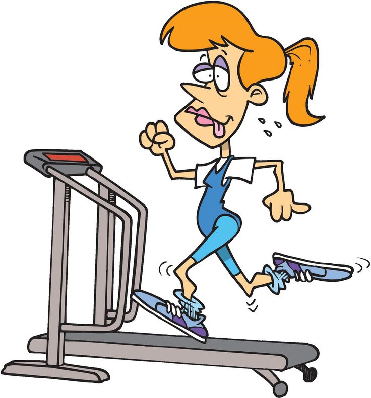 Cartoon Workout Images