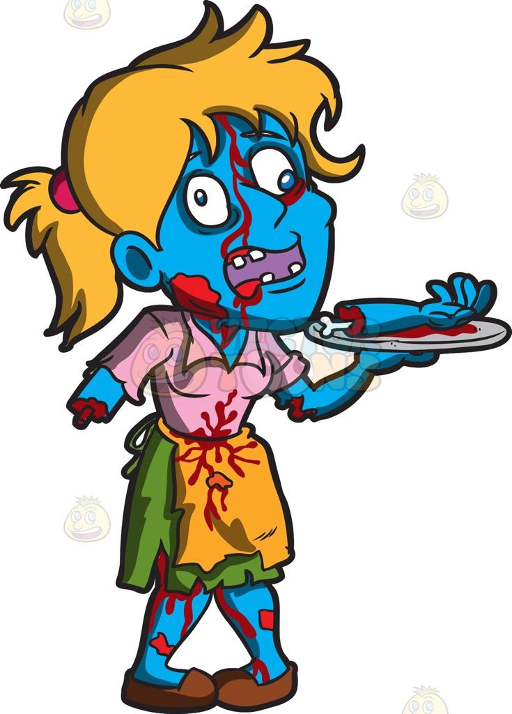 Cartoon Zombie Clipart