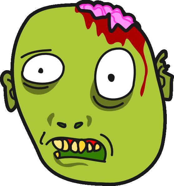 558x599 Zombie Clip Art