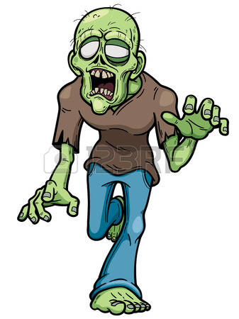 337x450 Clipart Zombie