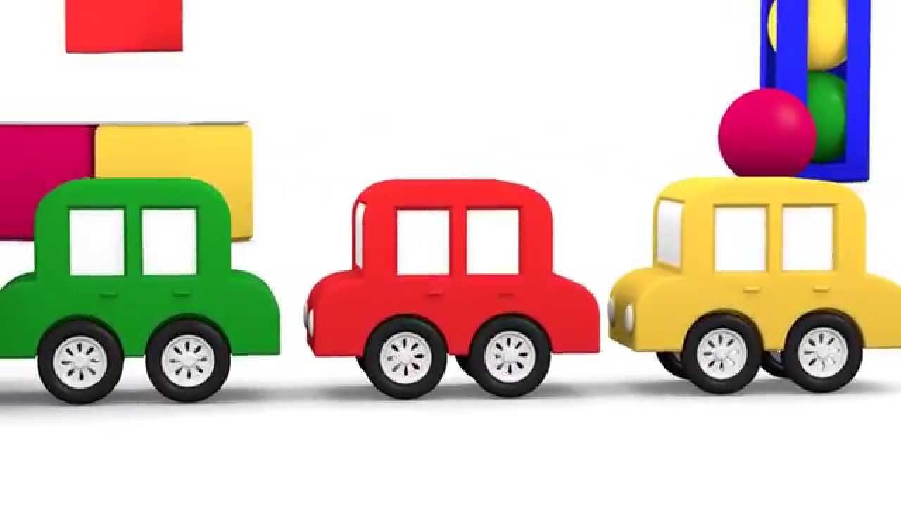 1280x720 Cube Dance! Cartoon Cars Videos For Kids