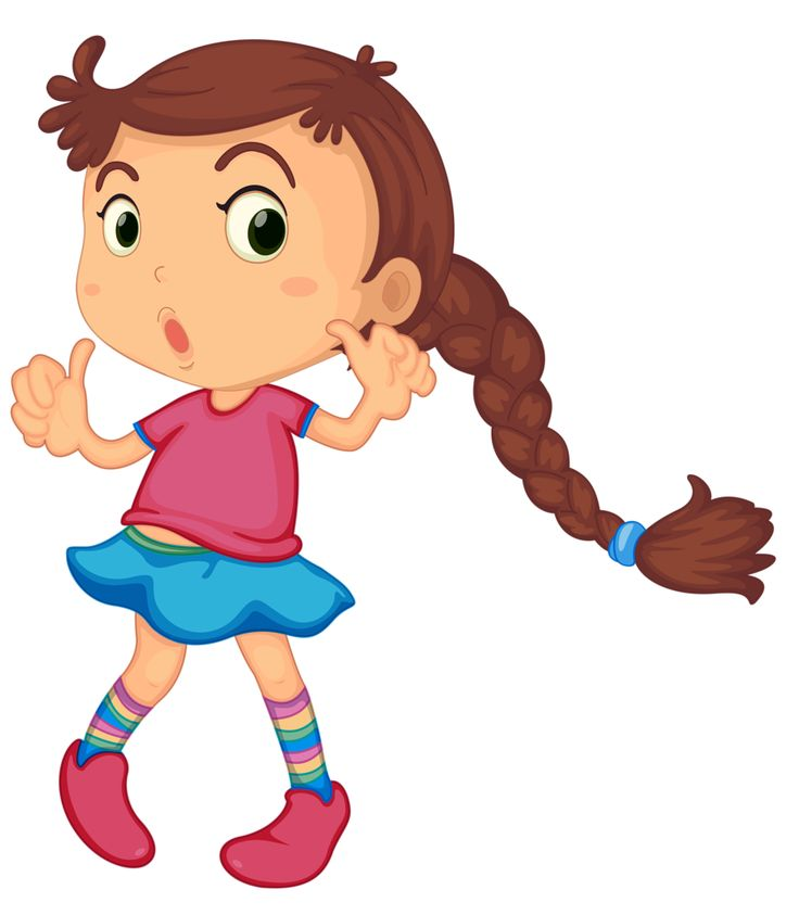 Cartoons Of Girls Clipart