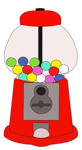 264x480 Bubble Gum Machine Clipart10 Png Gumball Machine Clip Art