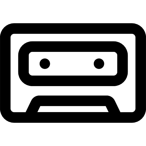 512x512 Cassette Tape, Tape, Music Tape, Audio Tape, Music, Cassette Icon