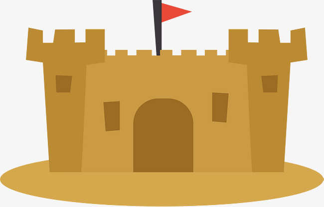 650x415 Beach Castle, Vector Png, Castle, Sandy Beach Png And Vector