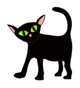 325x354 Witch Clipart Black Cat