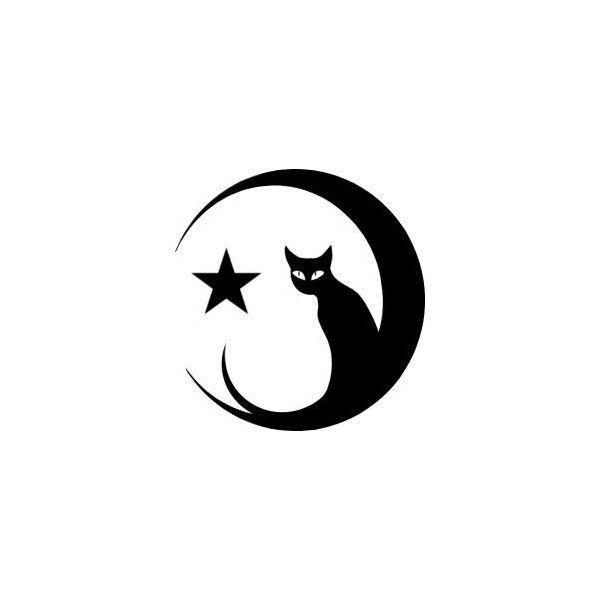 600x600 Black Cat Clipart Moon